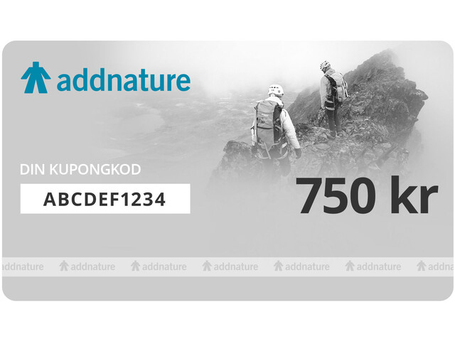 addnature Gift Voucher 750 kr